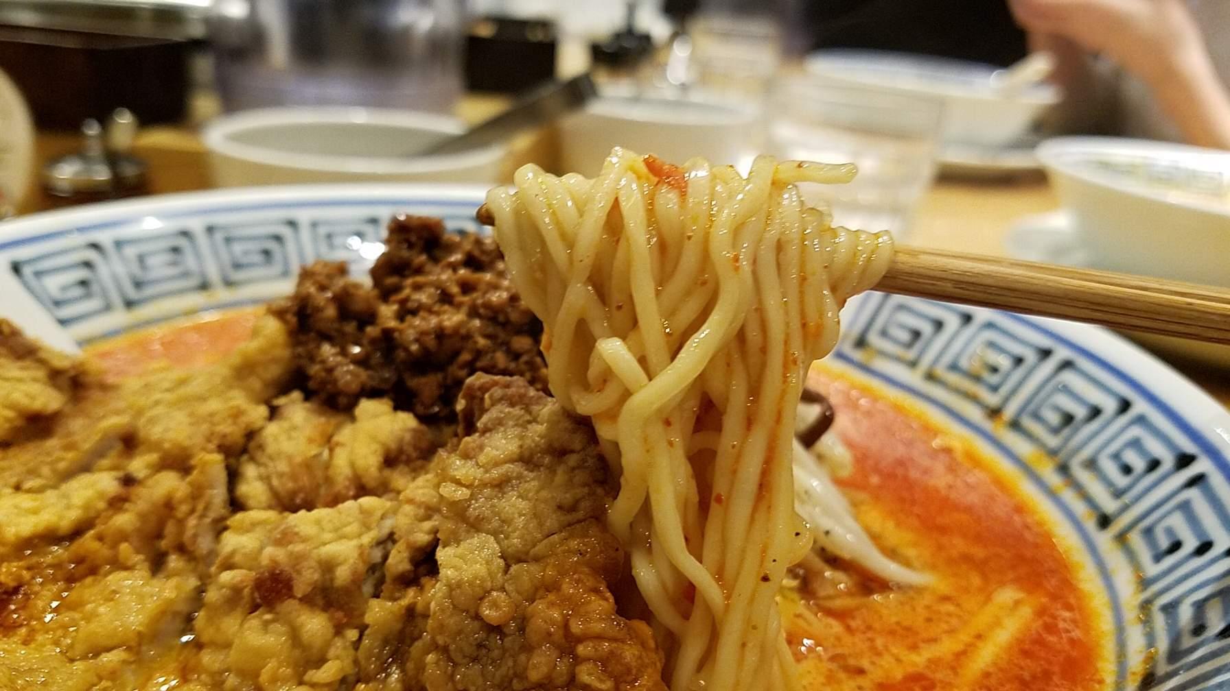希須林担々麺屋赤坂店の担々麺